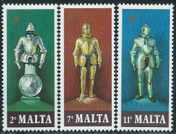 Malta 1977 Nuovo** - Mi.542/4  Yv.537/9 - Malta