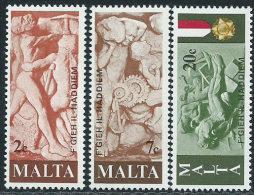 Malta 1977 Nuovo** - Mi.556/8  Yv.551/3 - Malta