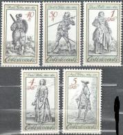 Czechoslovakia 1983  Art Engravings Michel 2742-2746 MNH (**). - Tchécoslovaquie