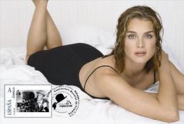 Spain 2013 - The World Of Cinema - Brooke Shields Maxicard
