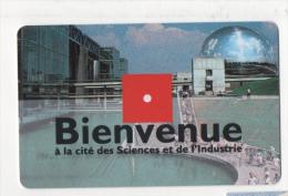 Alt321 Biglietto Ingresso, Billet Entree, Entry Card, Geode Città Scienze Industria Parigi Citè Sciences Industrie Paris - Other Collections