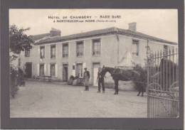 Montfaucon Sur Moine - Hotel De Chambery - Marie Dame - Attelage - Voir Etat - Montfaucon
