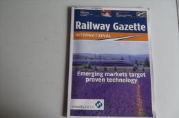 Lib204 Railway Gazette, Train, Tramway, Tram, Treno, High Speed, Underground Metro, Metropolitain - Trasporti