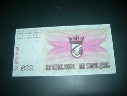 Bosnia Erzegovina 500 Dinara - Bosnia Erzegovina