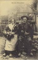(71)  Musiciens Morvandeaux .(  NB: La Femme Est à Droite )-TBE- (2 Scanns) - Couples