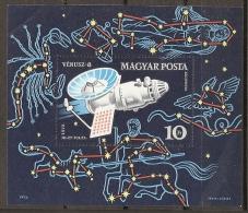 ESPACIO - HUNGRÍA 1973 - Yvert #H101 - MNH ** - Espacio