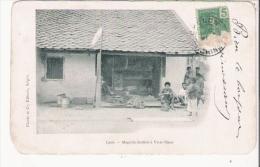 LAOS MAGASIN LAOTIEN A VIEN-TIANE - Laos