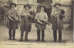 ( 36 )  BERRICHON- Vielleux Et Cornemuseux-  ( 4 MUSICIENS )Edit :M. David - France