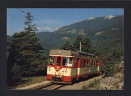 CPM Chemin De Fer YVERDON-SAINTE CROIX (Ste) Train Sur Les Rapilles De Baulmes YSteC - Réf A2959 - Trains