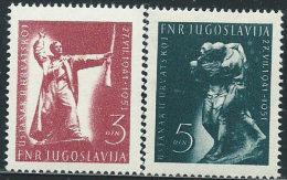 Jugoslavia 1951 Nuovo** - Mi.662/3 - 1945-1992 Repubblica Socialista Federale Di Jugoslavia
