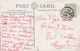 POSTAL HISTORY - 1906 SINGLE RING CANCELLATION - BROCKLESBY - Postmark Collection