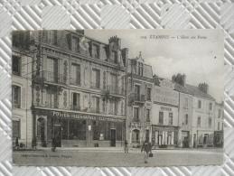 """Belle CPA Animée :   """"ETAMPES - L'Hôtel Des Postes""""    RAMEAU - Etampes"""