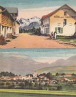 France - Lot De 2 Cartes Neuves - GEX  (01) - Scannées R°/V° - - Postcards