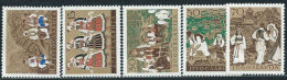 Jugoslavia 1957 Nuovo** - Mi.827/31  Yv.730/4  Non Completa - 1945-1992 Repubblica Socialista Federale Di Jugoslavia