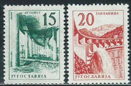 Jugoslavia 1959 Nuovo** - Mi.893/4  Yv.794/5 - 1945-1992 Repubblica Socialista Federale Di Jugoslavia