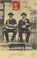 ( 23 ) Au Pays Creusois  1 VIELLE Et 1 CORNEMUSE  .CIRCULEE 1907- (2 Scanns) - France