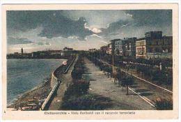 A25 -   Civitavecchia - Viale Garibaldi Con Il Raccordo Ferroviario - Civitavecchia