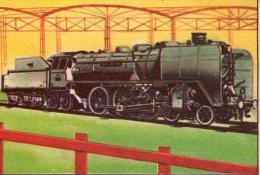FIGURINA  INTREPIDO , Locomotiva  Schwarzkopf   , Treno - Altre Collezioni