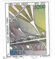 Italia 1991; Palazzo EsposizioniTorino Di P.L. Nervi ; Usato - 1991-00: Usati