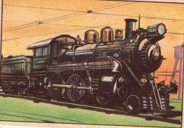 FIGURINA  INTREPIDO , Locomotiva  Pennsylvania  RR  4-4-0   , Treno - Altre Collezioni