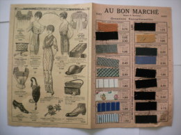 AU BON MARCHE DEPLIANT OCCASIONS EXCEPTIONNELLES - Publicités