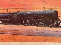 FIGURINA  INTREPIDO , Locomotiva  Clock O´ The North    , Treno - Altre Collezioni