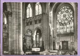 89 - SENS - Intérieur De La Cathédrale - Grilles Du Cardinal De Luynes Et Rosace Sud - Photo Véritable - Sens