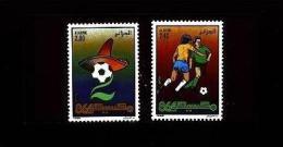 Algérie Algeria Soccer World Cup Coupe Du Monde De Football Fussball Weltmeisterschaft Calcio Futbol Mexico Full 1986 - World Cup