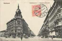 Pays Divers-hongrie - Ref 923 -budapest  -  Andrassy-ut - Rue Andrassy -  Carte Bon état  - - Hongrie