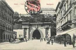 Pays Divers-hongrie - Ref 918 -budapest  -alagut - Tunnel -  Carte Bon état   - - Hongrie
