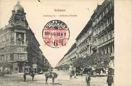Pays Divers-hongrie - Ref 916 -budapest  Andrassy-ut - Rue Andrassy -  Carte Bon état   - - Hongrie