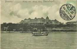 Pays Divers-hongrie - Ref 907 -  Budapest  - Palais Royal -   Carte Bon état  - - Hongrie