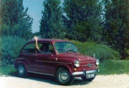 Foto FIAT 600D, Format 12,8 X 8,8 Cm - Automobile