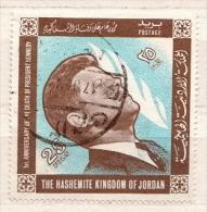 Jordan Used Stamp - Kennedy (John F.)