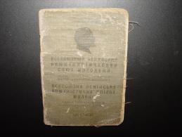 LENIN LENINE POLITIQUE CCCP RUSSIE URSS 1928 - Documents Historiques