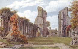 A.R. Quinton - Ruins Of Glastonbury Abbey In Somerset   1585 - Quinton, AR