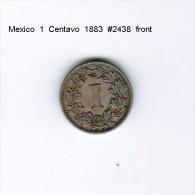 MEXICO    1  CENTAVO  1883  (KM # 392) - Mexico