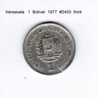 VENEZUELA   1  BOLIVAR  1977  (Y # 52) - Venezuela