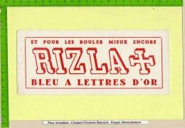 BUVARD : Rizla +  Pour Les Rouler Mieux Encore - Tobacco
