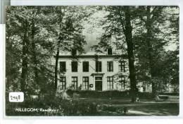 HILLEGOM * RAADHUIS * ANSICHTKAART * CPA * GELOPEN NAAR GOUDA  (2498) - Nederland