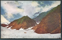 Japan -  Mount Hakusa - Japanese Alps - Japan
