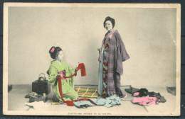 Japan -  O-Koto-San Dresses To Go Visiting - Ethnics