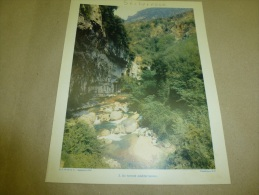 Année 1954  Grande Photographie En Couleurs Un TORRENT Méditérranéen  (27cm X 21cm) - Lieux
