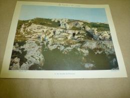 Année 1954  Grande Photographie En Couleurs Du Coté De BEAUX De PROVENCE   (27cm X 21cm) - Lieux