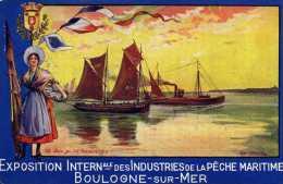 CP DU PAS DE CALAIS BOULOGNE SUR MER - Boulogne Sur Mer