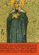 Santa Rita Da Cascia (Tessera Di Associazione) - Santini