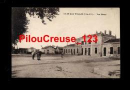 """21 C�te d�Or - IS sur TILLE - """" La Gare - Animation """""""