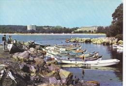 Bulgaria Primorsko Harbor Scene Fishing Boats