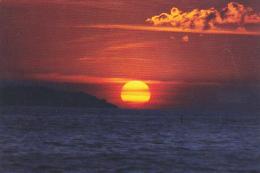 Thailand Sunset In Andaman Sea Near Phuket Island