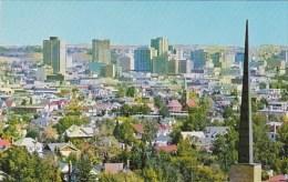 CanadaReaching Concrete Towners In Calgarys Downtown Area Reflec